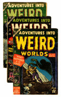Golden Age (1938-1955):Horror, Adventures Into Weird Worlds Group (Atlas, 1953-54).... (Total: 6Comic Books)