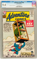 Silver Age (1956-1969):Superhero, Adventure Comics #298 (DC, 1962) CGC NM 9.4 Off-white to white pages....