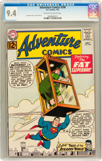 Adventure Comics #298 (DC, 1962) CGC NM 9.4 Off-white to white pages