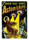 Golden Age (1938-1955):Horror, Astonishing #30 (Atlas, 1954) Condition: VG....