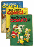 Golden Age (1938-1955):Cartoon Character, Walt Disney's Comics and Stories Group (Dell, 1946-61) Condition:Average GD-.... (Total: 16 Comic Books)