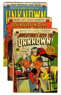 Golden Age (1938-1955):Horror, Adventures Into The Unknown Group (ACG, 1953-55).... (Total: 11Comic Books)