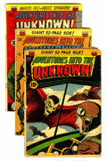 Golden Age (1938-1955):Horror, Adventures Into The Unknown Group (ACG, 1952-53).... (Total: 8Comic Books)