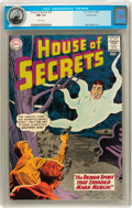 Silver Age (1956-1969):Mystery, House of Secrets #59 Pacific Coast pedigree (DC, 1963) CGC NM 9.4White pages....