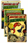 Golden Age (1938-1955):Horror, Adventures Into The Unknown Group (ACG, 1950-52).... (Total: 13Comic Books)