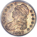 Proof Bust Half Dollars, 1827 50C PR66 PCGS Secure. CAC. O-121, High R.7 as a Proof....