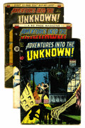 Golden Age (1938-1955):Horror, Adventures Into The Unknown Group (ACG, 1949-50).... (Total: 7Comic Books)