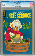 Silver Age (1956-1969):Cartoon Character, Uncle Scrooge #72 (Gold Key, 1967) CGC NM+ 9.6 Off-white to whitepages....