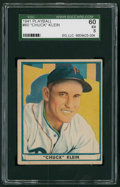 Baseball Cards:Singles (1940-1949), 1941 Play Ball Chuck Klein #60 SGC 60 EX 5....