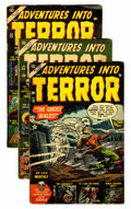 Golden Age (1938-1955):Horror, Adventures Into Terror Group (Atlas, 1953-54) Condition: Average VGexcept as noted.... (Total: 8 Comic Books)