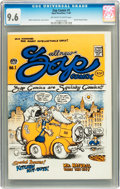 Silver Age (1956-1969):Alternative/Underground, Zap Comix #1 First Printing - Plymell Edition (Apex Novelties, 1967) CGC NM+ 9.6 Off-white to white pages....