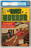 Golden Age (1938-1955):Horror, Vault of Horror #12 (EC, 1950) CGC VF 8.0 Off-white pages....