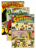 Silver Age (1956-1969):Miscellaneous, DC Silver Age Comics Group (DC, 1950s-'60s) Condition: AverageVG.... (Total: 60 Comic Books)