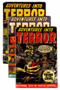 Golden Age (1938-1955):Horror, Adventures Into Terror Group (Atlas, 1950-52).... (Total: 8 ComicBooks)