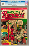 Golden Age (1938-1955):Romance, Wartime Romances #7 Mile High pedigree (St. John, 1952) CGC VF 8.0 Off-white to white pages....