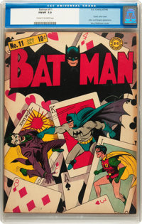 Batman #11 (DC, 1942) CGC FN/VF 7.0 Cream to off-white pages