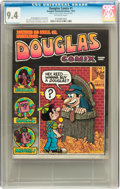 Bronze Age (1970-1979):Alternative/Underground, Douglas Comix #nn (Douglas Records, 1972) CGC NM 9.4 Off-white pages....