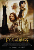 """Movie Posters:Fantasy, The Lord of the Rings: The Two Towers (New Line, 2002). One Sheets (3) (27"""" X 40"""") DS Advance Styles A, D, and Saruman Back ... (Total: 3 Items)"""