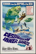 "Movie Posters:Science Fiction, Destination Inner Space (Magna, 1966). One Sheet (27"" X 41"").Science Fiction.. ..."
