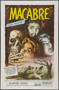 """Movie Posters:Horror, Macabre (Allied Artists, 1958). One Sheet (27"""" X 41""""). Horror.. ..."""