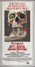 "Movie Posters:Horror, The Legend of Hell House (20th Century Fox, 1973). Three Sheet (41"" X 81""). Horror.. ..."