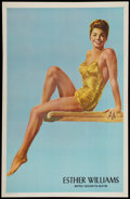 """Movie Posters:Miscellaneous, Esther Williams Personality Poster (MGM, 1948). One Sheet (27"""" X 41.5""""). Miscellaneous.. ..."""