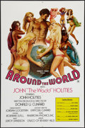 "Movie Posters:Adult, Around the World with John 'The Wadd' Holmes (Art-Mart, 1975). One Sheet (27"" X 41""). Adult.. ..."