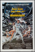 """Movie Posters:James Bond, Moonraker (United Artists, 1979). One Sheet (27"""" X 41""""), SouvenirProgram (20 Pages, 9"""" X 12""""), and Lobby Card (11' X 14""""). ...(Total: 3 Items)"""