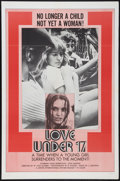 "Movie Posters:Sexploitation, Love Under 17 & Other Lot (United International Pictures,1972). One Sheets (2) (27"" X 41""). Sexploitation.. ... (Total: 2Items)"