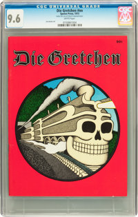 Die Gretchen #nn (Speleo Press, 1973) CGC NM+ 9.6 White pages