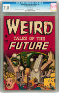 Golden Age (1938-1955):Science Fiction, Weird Tales of the Future #2 Aurora pedigree (Aragon, 1952) CGCFN/VF 7.0 Off-white pages....