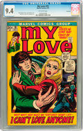 Bronze Age (1970-1979):Romance, My Love #19 Savannah pedigree (Marvel, 1972) CGC NM 9.4 Off-whitepages....