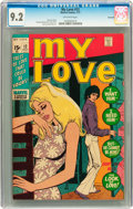 Bronze Age (1970-1979):Romance, My Love #12 Savannah pedigree (Marvel, 1971) CGC NM- 9.2 Off-whitepages....