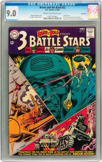The Brave and the Bold #52 - 3 Battle Stars - Savannah pedigree (DC, 1964) CGC VF/NM 9.0 Cream to off-white pages