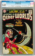 Silver Age (1956-1969):Science Fiction, Showcase #17 Adventures on Other Worlds - Savannah pedigree (DC,1958) CGC VG/FN 5.0 Cream to off-white pages....