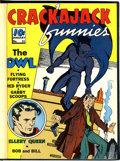 Golden Age (1938-1955):Miscellaneous, Crackajack Funnies #31-43 Bound Volumes (Dell, 1941).... (Total: 2 Items)
