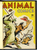Golden Age (1938-1955):Funny Animal, Animal Comics #1-30 Bound Volumes (Dell, 1942-48).... (Total: 5 )