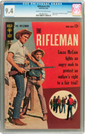 Silver Age (1956-1969):Western, The Rifleman #16 Savannah pedigree (Gold Key, 1963) CGC NM 9.4 Cream to off-white pages....