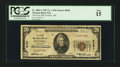National Bank Notes:Wisconsin, Frederic, WI - $20 1929 Ty. 1 The First NB Ch. # 8491. ...