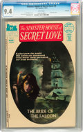 Bronze Age (1970-1979):Horror, Sinister House of Secret Love #3 Savannah pedigree (DC, 1972) CGCNM 9.4 White pages....