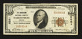 National Bank Notes:Virginia, Harrisonburg, VA - $10 1929 Ty. 1 The Rockingham NB Ch. # 5261. ...