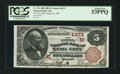 National Bank Notes:Missouri, King City, MO - $5 1882 Brown Back Fr. 471 The First NB Ch. #(M)4373. ...