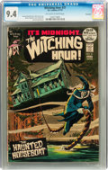 Bronze Age (1970-1979):Horror, The Witching Hour #21 Savannah pedigree (DC, 1972) CGC NM 9.4Off-white to white pages....