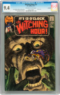 Bronze Age (1970-1979):Horror, The Witching Hour #13 Savannah pedigree (DC, 1971) CGC NM 9.4Off-white to white pages....
