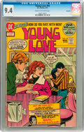 Bronze Age (1970-1979):Romance, Young Love #93 Savannah pedigree (DC, 1972) CGC NM 9.4 Cream tooff-white pages....
