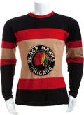 Hockey Collectibles:Uniforms, Circa 1935-36 Paul Thompson Game Worn Chicago Blackhawks Jersey....
