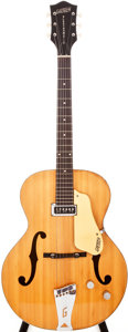 Musical Instruments:Electric Guitars, 1955 Gretsch Electromatic Natural Archtop Electric Guitar, #13864....