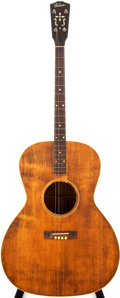 Musical Instruments:Acoustic Guitars, Late 1920s Gibson TG-0 Natural Acoustic Tenor Guitar, #N/A....