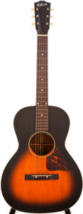 Musical Instruments:Acoustic Guitars, 1937-42 Gibson HG-00 Sunburst Acoustic Guitar, #N/A....