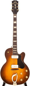 Musical Instruments:Electric Guitars, 1958 Guild Aristocrat Sunburst Semi-Hollow Body Electric Guitar,#5757....